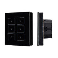 Панель Sens SR-KN0611-IN Black (KNX, DIM) (arlight, -)