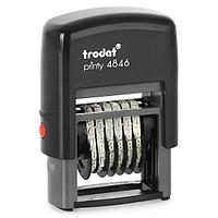 Нумератор TRODAT 6-разрядный, 4 мм 4846
