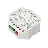 Диммер SMART-D12-DIM-PUSH-VR (12-48V, 1x6A, 2.4G) (arlight, IP20 Пластик, 5 лет)