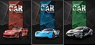 Тетрадь 96л, скр., А4, клетка, 6641/3-EAC Sport Cars