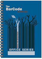 """Тетрадь 80л 210*297 (А4) кл 6485-VQ полн УФ """"Штрих-код: деревья, синий"""""""