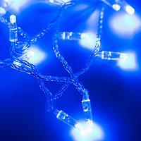 Светодиодная гирлянда ARD-STRING-CLASSIC-10000-CLEAR-100LED-FLASH BLUE (230V, 7W) (Ardecoled, IP65)