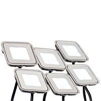 Набор KT-S-6x0.6W LED Day White 12V (квадрат) (arlight, IP67 Металл, 1 год)
