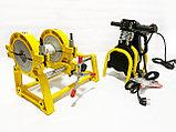 SKAT 63-160мм с 2мя держателями механический сварочный аппарат для стыковой пайки полиэтиленовых труб, фото 6