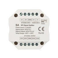 Усилитель SMART-SPI (12-24V, 2 output) (arlight, IP20 Пластик, 5 лет)