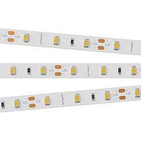 Светодиодная лента RT-A60-8mm 12V White6000 (7.2 W/m, IP20, 2835, 5m) (arlight, Открытый)