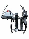 SKAT 63-160мм с 2мя держателями механический сварочный аппарат для стыковой пайки полиэтиленовых труб, фото 8