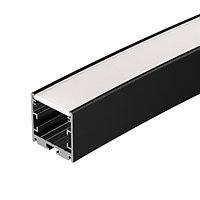 Профиль SL-ARC-3535-D3000-A45 BLACK (1180мм, дуга 1 из 8) (arlight, Алюминий)