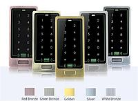 Цифровая антивандальная кодонаборная панель TC10 RFID (EMID, Mifare), металлическая, накладная, сенсорная