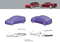 Обвес для Tesla model 3 2016+