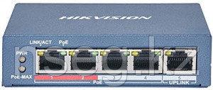 Коммутатор Hikvision DS-3E0105P-E/M