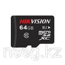 MicroSD Карта памяти Hikvision HS-TF-L2(STD)/64G/P