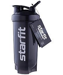 Шейкер STARFIT PRO FB-200, с металлическим венчиком, серый/черный Starfit