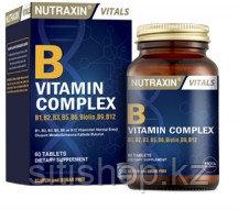 Для поддержания иммунитета, бодрости и здоровой кожи  complex vitamin B Nutraxin