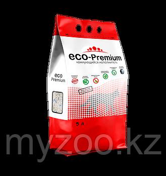ECO-Premium Тутти-фрути, 5 л |Эко-премиум Наполнитель комкующийся древесный|