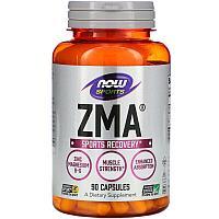 Now Foods, Sports, ZMA, восстановление после занятий спортом, 90 капсул
