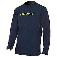 Лонгслив лайкровый мужской PROLIMIT Loosefit Tee Logo black/yellow, L tv-1897-l