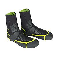Гидроботинки ION Plasma Boots 6/5mm NS black/green 2018, 36/5 tv-212-36-5