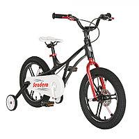 """Велосипед двухколесный Pituso Sendero 16"""" Black/Черный LS16-9-Black"""