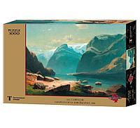 """СТЕЛЛА: Пазлы Саврасов А.К. """"Озеро в горах Швейцарии"""", 3000 дет."""