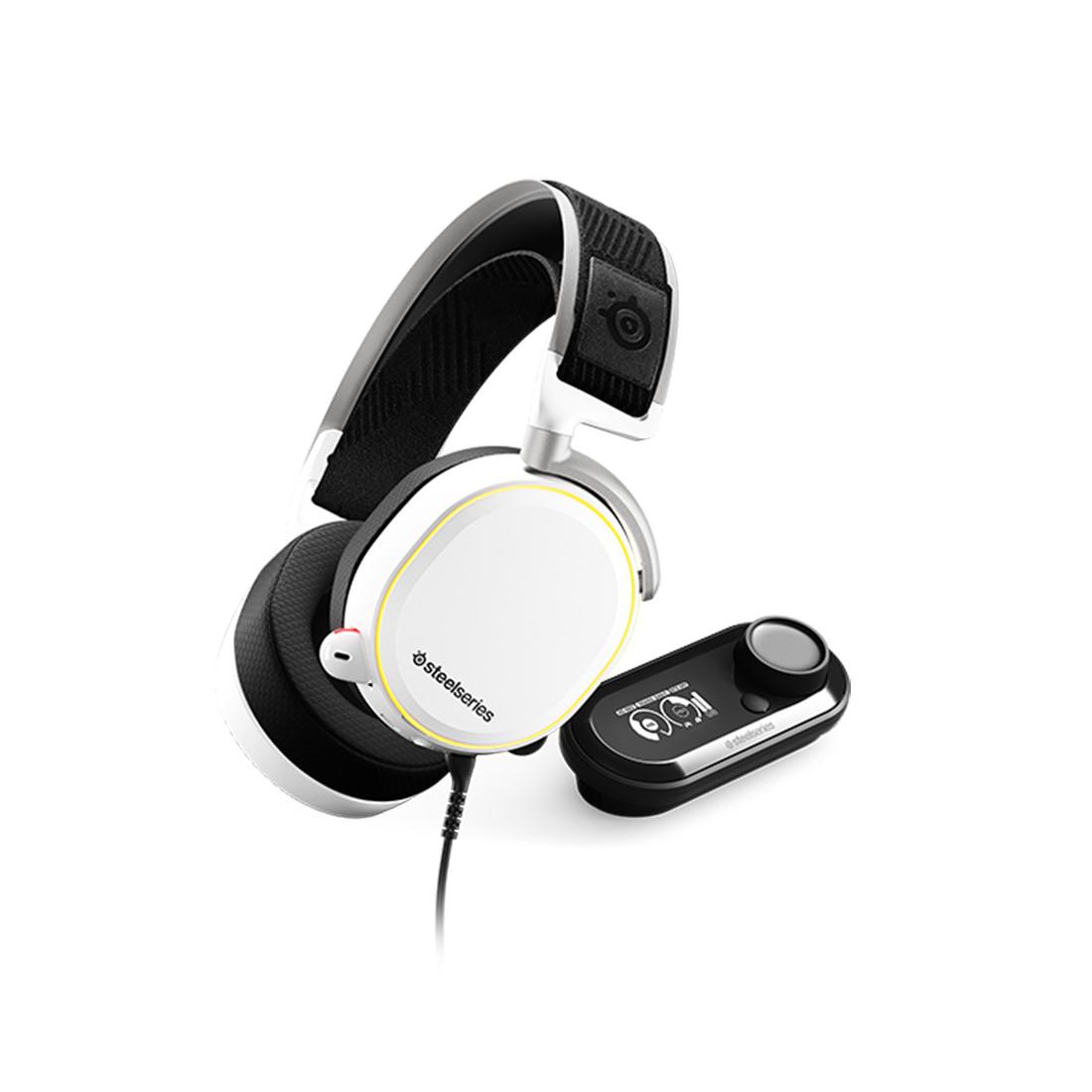 Гарнитура Steelseries Arctis Pro + GameDAC White - фото 1