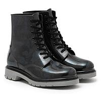 Ботинки женские с утеп. на шнуровке, цвет чёрный, размер 38