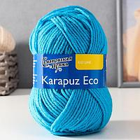 Пряжа Karapuz Eco (КарапузЭко) 90% акрил, 10% капрон 25м/50гр т.бирюз (211)