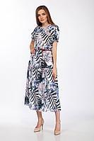 Женское летнее шифоновое платье Olegran 3769 44р.