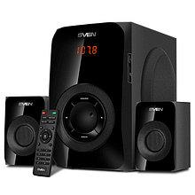 SVEN MS-2020 акустическая система 2.1 с Bluetooth, проигрывателем USB/SD, FM-радио, дисплеем, ПДУ