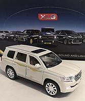 Машинка коллекционная Toyota Land Cruiser 200 металлическая модель, большая