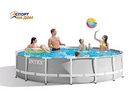 Круглый каркасный бассейн INTEX 26724 (457*107 см)