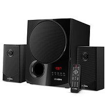 SVEN MS-2080 акустическая система 2.1 с Bluetooth, проигрывателем USB/SD, FM-радио, дисплеем, ПДУ
