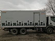 Брендирование грузовых автомобилей компании EURASIAN MACHINERY 2