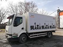 Брендирование грузовых автомобилей компании EURASIAN MACHINERY 4