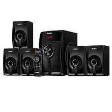 SVEN HT-202 акустическая система 5.1 с Bluetooth, проигрывателем USB/SD, FM-радио, дисплеем, ПДУ