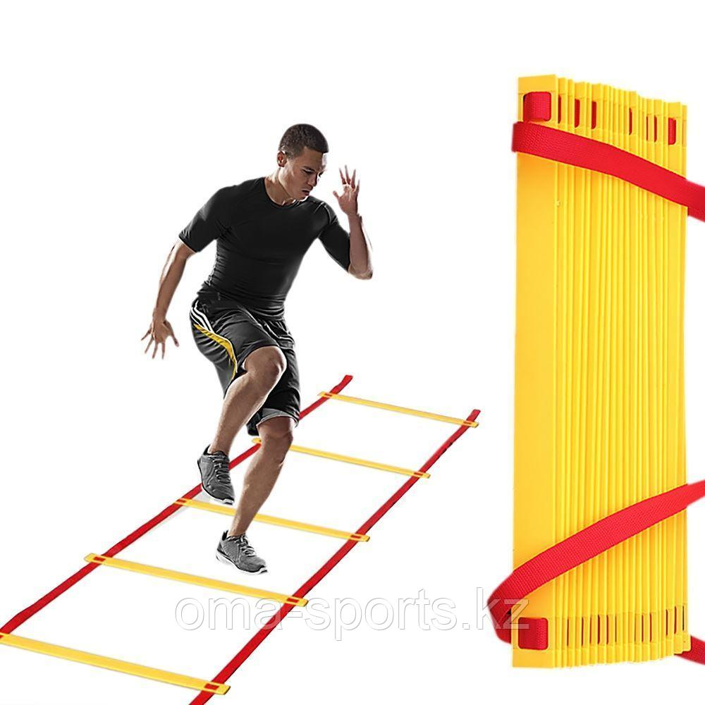 Футбол лестница 6м JTN-536 10 STEPS