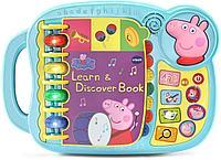 Интерактивная обучающая книга Свинка Пеппа VTech, фото 1