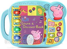Интерактивная обучающая книга Свинка Пеппа VTech