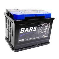 Аккумулятор Bars 6СТ - 60 Ah обратная полярность