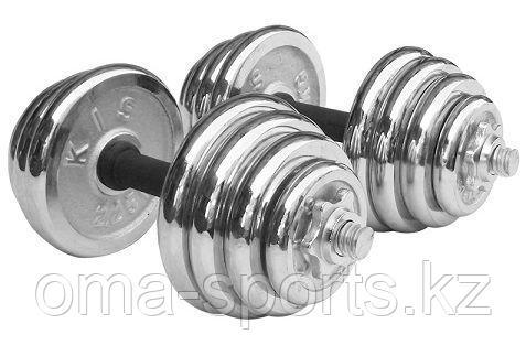 Гантель хром 20 кг IMED 520-45