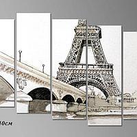 Картина Париж карандашный стиль