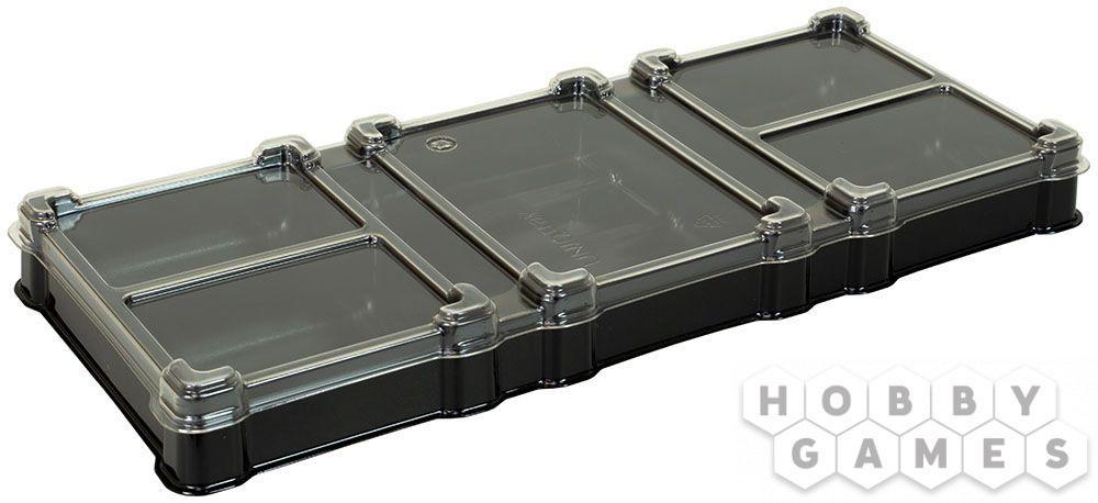 Пластиковая коробочка UniqTraySystem Organizer (7 секции)
