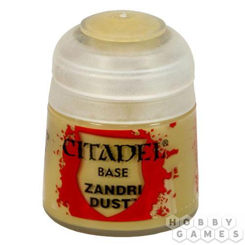 АКСЕССУАРЫ ВАРХАММЕР: Баночка с краской: Пыль Зандри (Paint Pot: Zandri Dust)