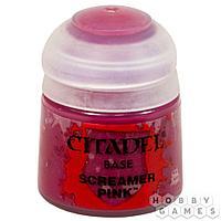 АКСЕССУАРЫ ВАРХАММЕР: Баночка с краской: Розовый скример (Paint Pot: Screamer Pink)
