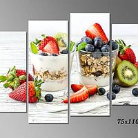 Картина Ягодный йогурт