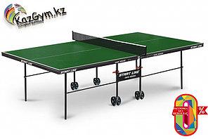 Теннисный стол Start Line Game Indoor GREEN с сеткой