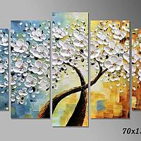 Картина Живопись цветущее дерево