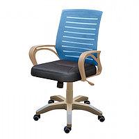 Кресло МИ-6 (сид.ортопед цв.синий, черный)