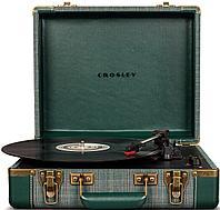 Проигрыватель виниловых дисков CROSLEY EXECUTIVE PORTABLE Pine Needle c Bluetooth CR6019D-PNE