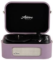 Проигрыватель виниловых дисков Alive Audio STORIES Lilac c Bluetooth STR-06-LL